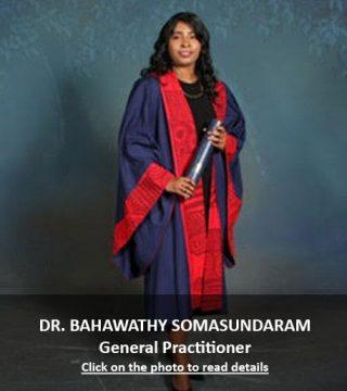 Dr. Baha Bahawathy Somasundaram General Practitioner