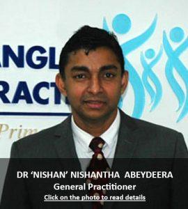 Dr 'Nishan' Nishantha Abeydeera