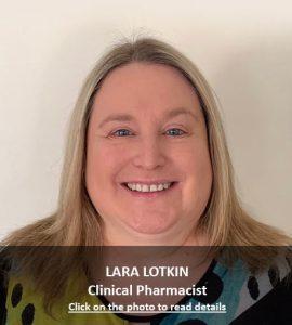 Lara Lotkin Clinical Pharmacist